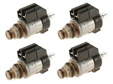 For Mercedes W203 W216 C230 Set of 4 Blue Cap Transmission Solenoid Valves Bosch