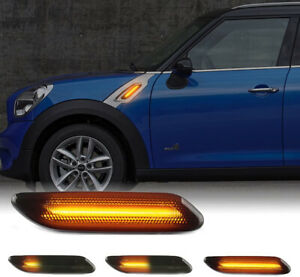 For Mini Cooper S Countryman R60 Paceman R61 LED Front Fender Side Marker Lights