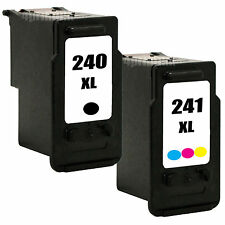 2 Pk PG-240XL CL-241XL Ink For Canon 240XL 241XL Pixma MX372 MX392 MX432 MX439
