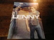 LENNY KRAVITZ - Plan média / Press kit !!! BELIEVE IN ME !!! 15X21 !!!