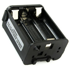 Noir BT-8 AAX6 Radio batterie cas couvrir pour Kenwood Radio TH-28 TH-48 TH-78HT
