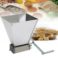 Grain Processeur Crusher INOX Rouleaux Homebrew Malt Grain Mill Beer Making