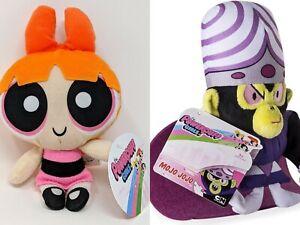 "Powerpuff Girls Blossom MoJo JoJo Plush SET Doll Figure Stuffed Kids Gift Toy 7"""