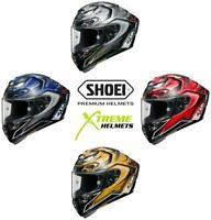 Shoei X-Fourteen Aerodyne Helmet Full Face Lightweight Pinlock Ready DOT XS-2XL
