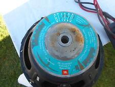 jbl  vintage 10 inch car subwoofer  speaker only gt102d