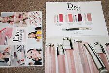 2x Dior Addict Backstage Pros 4 Pod Proben Lip Scrub Pink Berry Glow Profile