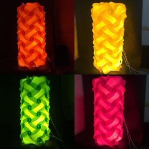 Bzwoyk 60 PCS Modern IQ Puzzle Jigsaw Light Lamp Shade Lampshade Large Cylinder