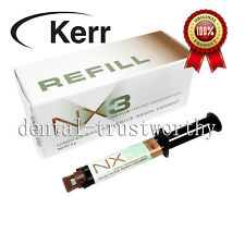 Kerr Nx3 Nexus 3rd Gen Dental Universal Adhesive Resin Cement Dual Cure Syringe