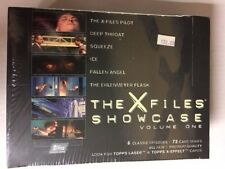 X-Files Showcase Volume 1 Trading Card Box Factory Sealed