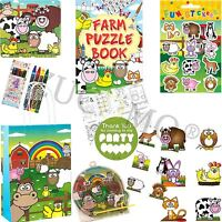 Boys Girls Farm Party Bags & Fillers For Birthday Party Bags Toys