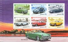 Jersey Classic Cars Min sheet no 3 in a set of 3-Mg-Midget-mnh