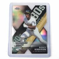 2020 Topps Chrome Rickey Henderson  Decades of Dominance Die Cut # DOD-3