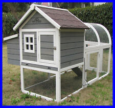 Charminster Chicken Coop Hen House Poultry Ark Hutch Run New Large Duck Birds