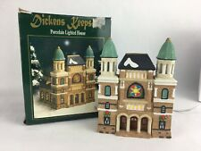 Christmas Dickens Keepsake Porcelain Lighted House - Cathedral Church