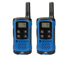 Motorola TLKR T41 2 Sens Talkie Walkie cadeau Set PMR 446 Radio Kit BLUEX 2 COMPACT