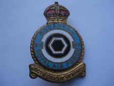 C1950S VINTAGE R.A.F.No 85 SQUADRON MILLERS MADE ENAMEL PIN BADGE