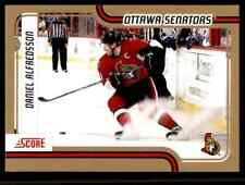 2011-12 Score Gold  Daniel Alfredsson #322