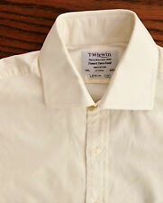 Classic ivory cufflink shirt Collar size 14.5 inch T M Lewin mens business wear