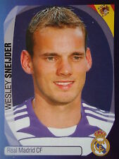 PANINI 342 Wesley Sneijder REAL MADRID UEFA CL 2007/08