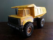 vtg Huge Nylint Pressed Steel Jumbo Garbage Dump Truck Yellow Metal Toy Car Game