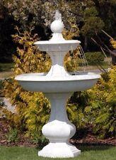 Springbrunnen Brunnen BARON mit Pumpe Gartenbrunnen Steinbrunnen BLACKFORM