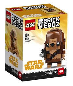 LEGO 41609 - Brickheadz - Chewbacca - NISB - Retired - 2018 Set