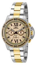 Invicta Specialty 15058 Men's Rose Gold Tone Roman Numeral Chronograph Watch