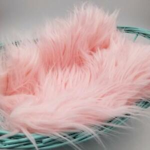 Pink Faux Fur Photo Prop Newborn Nest Photography Blanket FREE SHIPPING!!!