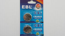 2 CR DL BR2025 EBL Lithium Battery 3V Button CELL BUY 2 get 1 FREE       Y2c