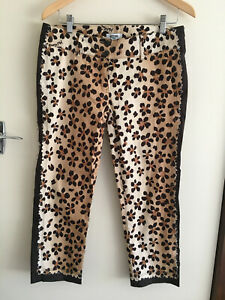 Moschino Jeans Leopard Pants