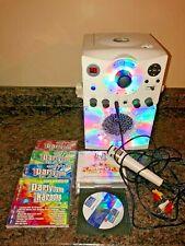 The Singing Machine Karaoke System w/ Mic & Lyrics on Tv & Party Tyme Cds