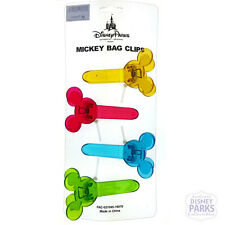 Disney Parks Mickey Mouse Bag Clips - Color Fusion - Chip Clips