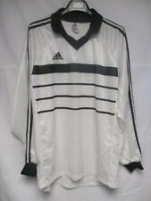Maillot ADIDAS vintage 1998 blanc style SCO ANGERS manches longues shirt L/S XL
