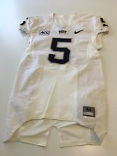 Game Worn Used Pittsburgh Panthers Pitt Football Jersey Nike Size 40 #5