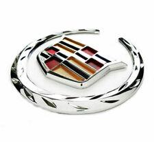 "Fit Cadillac Front Grille 6"" Emblem Hood Badge Logo Chrome Color Symbol Ornament"