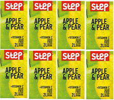 Step INSTANT DRINK -8 PACKS –APPLE AND PEAR in your cup with vitamin C.
