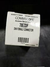 COMMSCOPE 78EZDF DIN FEMALE CONNECTOR