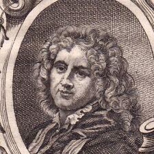 Portrait XIXe Adriaen van der Werff Kralingen Peintre Peinture Pas Bas