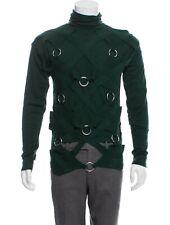 NWOT Helmut Lang MENS Rare Sample Bondage Ring Detail Sweater Sz S