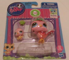 LPS Littlest Pet Shop MOMMY BIRD #3603 & BABY BIRD #3604 Quail Hasbro 2014
