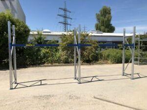 Länge 5,73 m Höhe 2,60 m 80 cm Lagerregal Palettenregal SSi Schäfer gebraucht