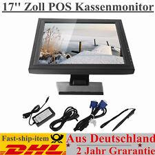 "17"" zoll LCD Monitor Kassenmonitor LED POS TOUCHSCREEN Full-HD HDMI HD USB VGA"