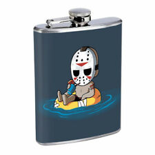 Horror Cartoon Em1 Flask 8oz Stainless Steel Hip Drinking Whiskey