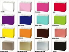 "LARGE SOLID Color Gift Basket BOX Size 10-1/4"" x 6"" x 7-1/2"" Choose Color"