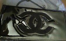 CC VIP Gift Cross Body Shoulder Bag Clutch Glossy Black Brand New