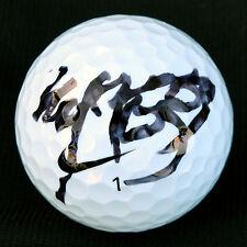 KJ Choi Signed Golf Ball Nike Autograph 20 Professional Wins South Korea TCV COA