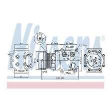 Fits BMW 1 Series E87 118i Genuine OE Quality Nissens A/C Air Con Compressor