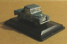"OXFORD DIECAST LAND ROVER 109"" BLUE OPEN BACK 1:76 SCALE MODEL CAR VEHICLE FARM"