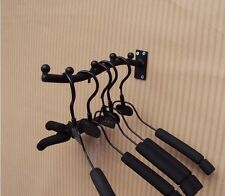 3 X Iron Wall Stick Style Clothes Rack Hanger Display Home Fashion Shop STBL