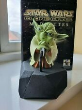 Star Wars Clone Wars Yoda Maquette, Gentle Giant, Limited Edition